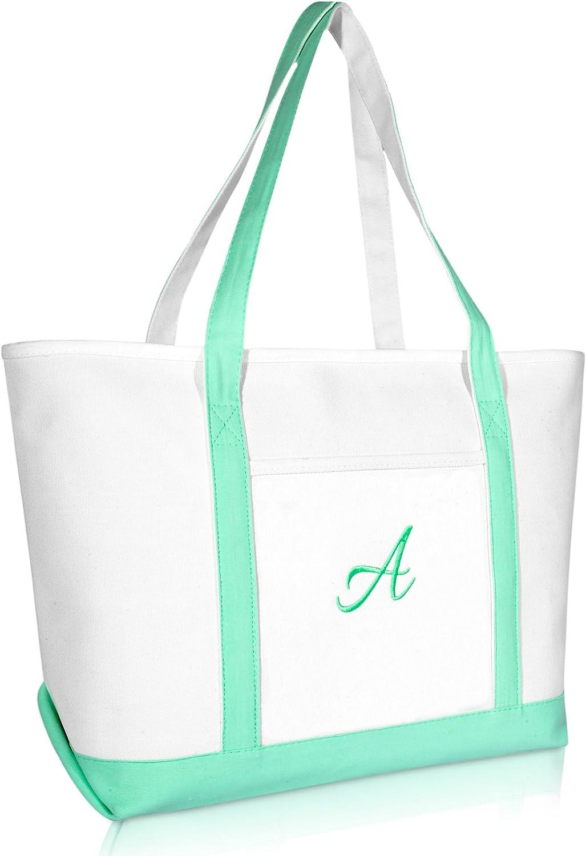 Mint Green Bag Cotton Tote Bag Shopping Bag