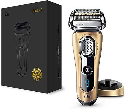 Braun Series 9 9299s Máquina de afeitar de láminas Recortadora Oro - Afeitadora (Máquina de afeitar de láminas, Oro, AC/Batería, Ión de litio, 50 min, 1 h): Amazon.es: Salud y cuidado personal