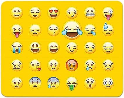 ADDIES Mousepad todos Emoji/Emoticons en un ratón. Muy bonito ...