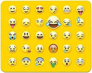 ADDIES Mousepad todos Emoji/Emoticons en un ratón. Muy ...