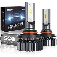 $28 » SEALIGHT 9005/HB3 LED High Beam Headlight Bulbs Conversion Kit Plug and Play, 9145/H10…