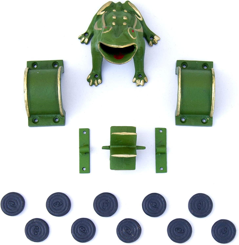 Piezas juego de la rana