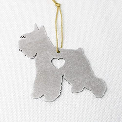 Siberian Husky Dog Metal Ornament Gifts Christmas Tree Holiday Party Decorations Home Decor