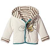 Burt's Bees Baby Boy's Watercolor Bee Jacket - Ivory - Newborn