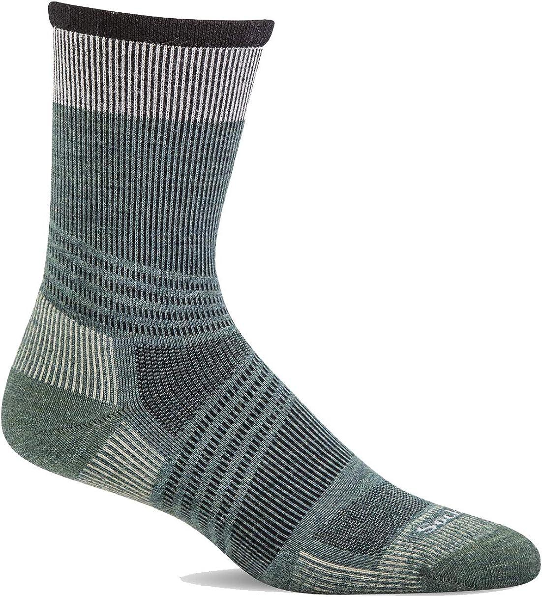 Sockwell Mens Summit Crew II Firm Graduated Compression Sock