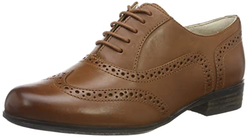 211029e15ba Clarks Women's Hamble Oak Derbys, Brown (Dark Tan Leather),2 UK (