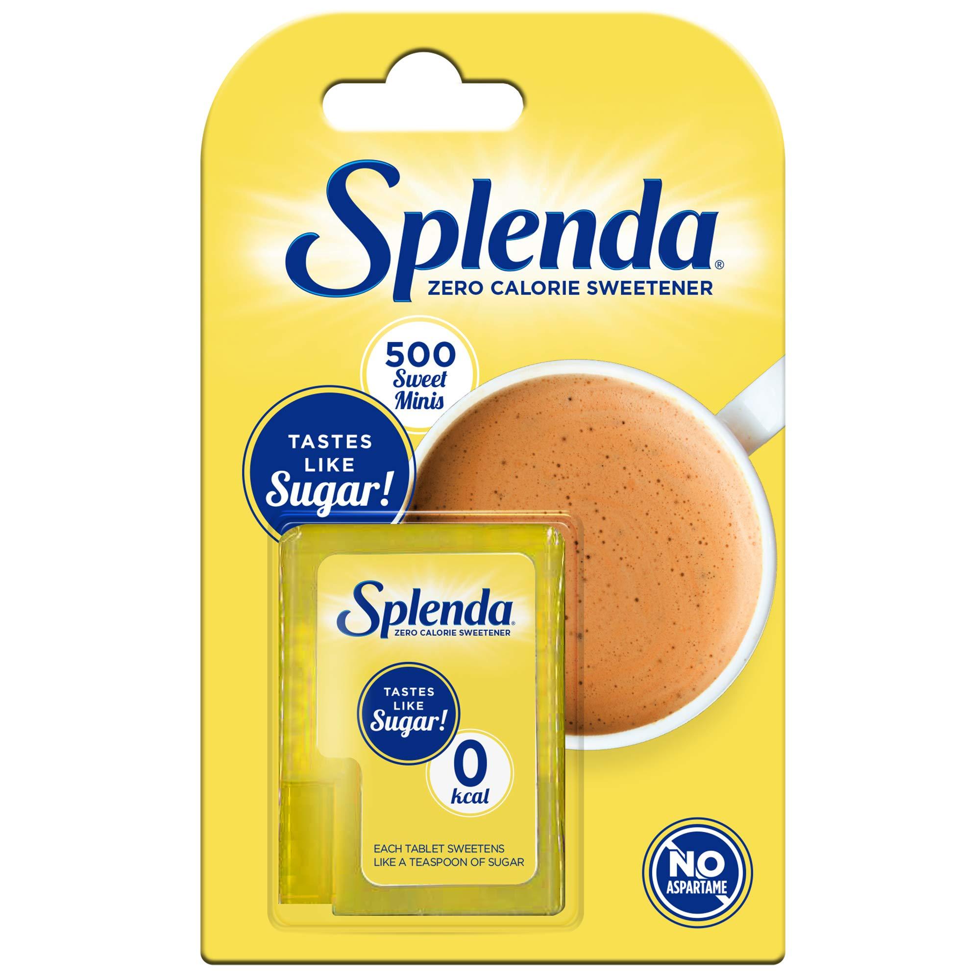 SPLENDA No Calorie Sweetener Dissolvable Minis, 500 Tablets (1-Pack)