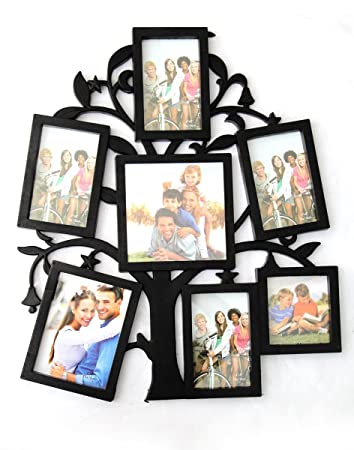 01c4bc637c7f Buy Empreus Black 7 Photo Collage Frame Online at Low Prices in India -  Amazon.in