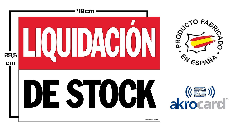 Cartel resistente PVC - LIQUIDACION DE STOCK - Señaletica de ...