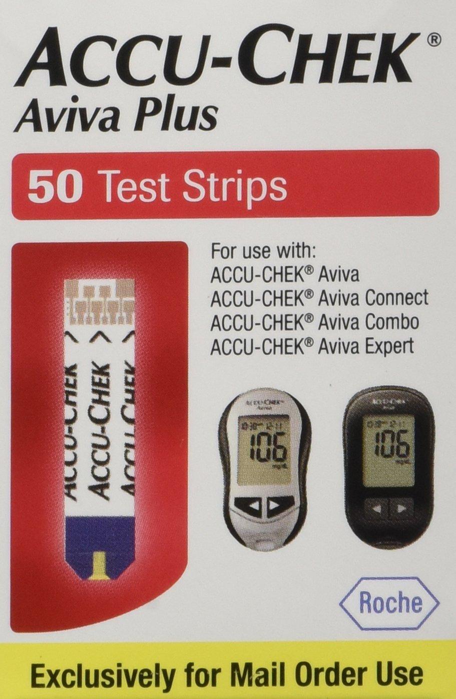 ACCU-CHEK Aviva Plus Test Strips, 50 Count by ACCU-CHEK