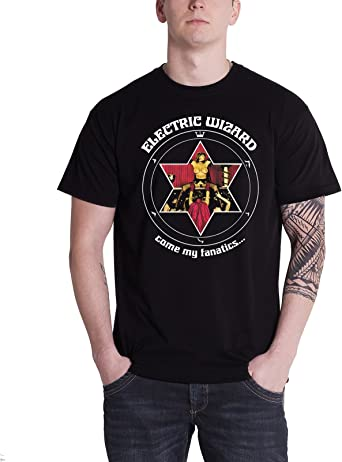 Electric Wizard New Official /& Licensed Band product Come My Fantics T Shirt
