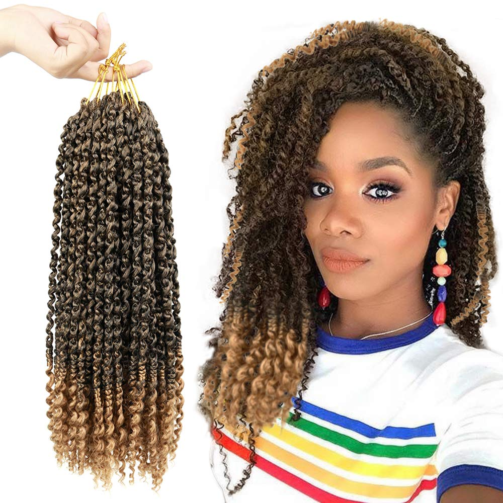 Amazon coupon code for 6PCS Fine Pre-twisted Passion Twist Crochet Hair