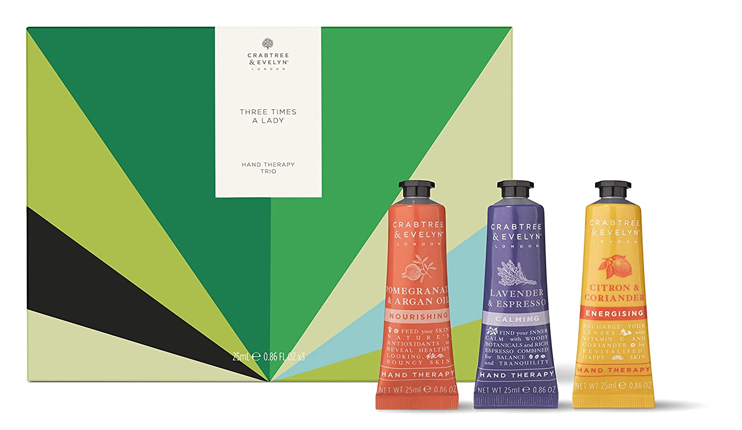 Amazon.com: Crabtree & Evelyn Three Times A Lady Hand ...