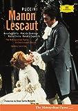 Puccini - Manon Lescaut / Scotto, Domingo, MET, Levine, Menotti (Coffret 2 DVD)