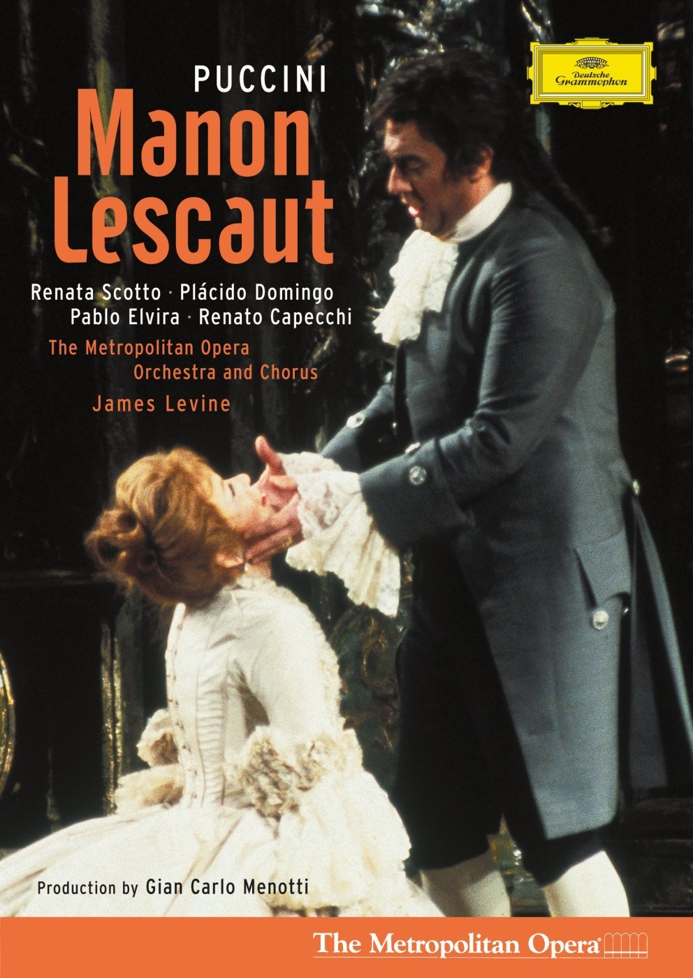 DVD : Metropolitan Opera Orchestra - Manon Lescaut (Subtitled)