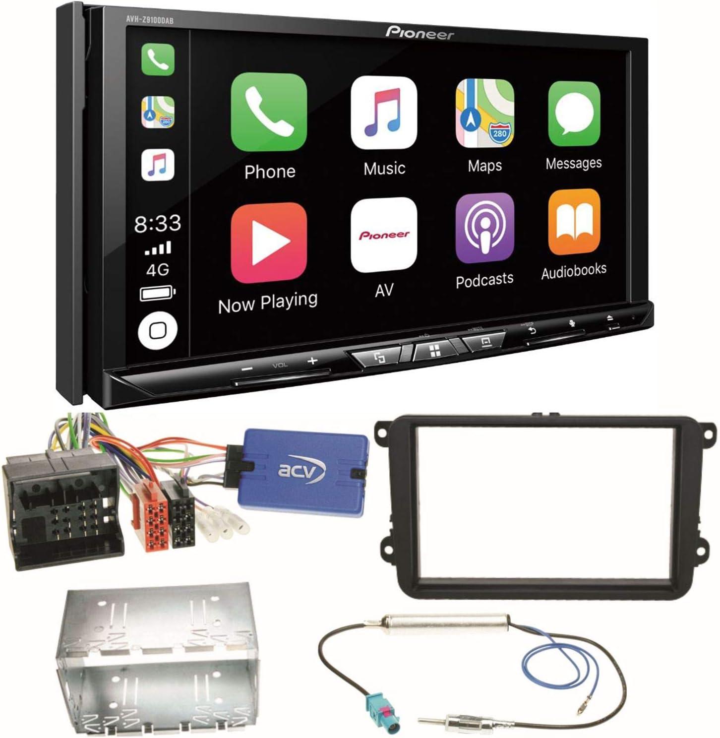 Pioneer AVH-Z9100DAB CarPlay - Radio Digital para Coche ...