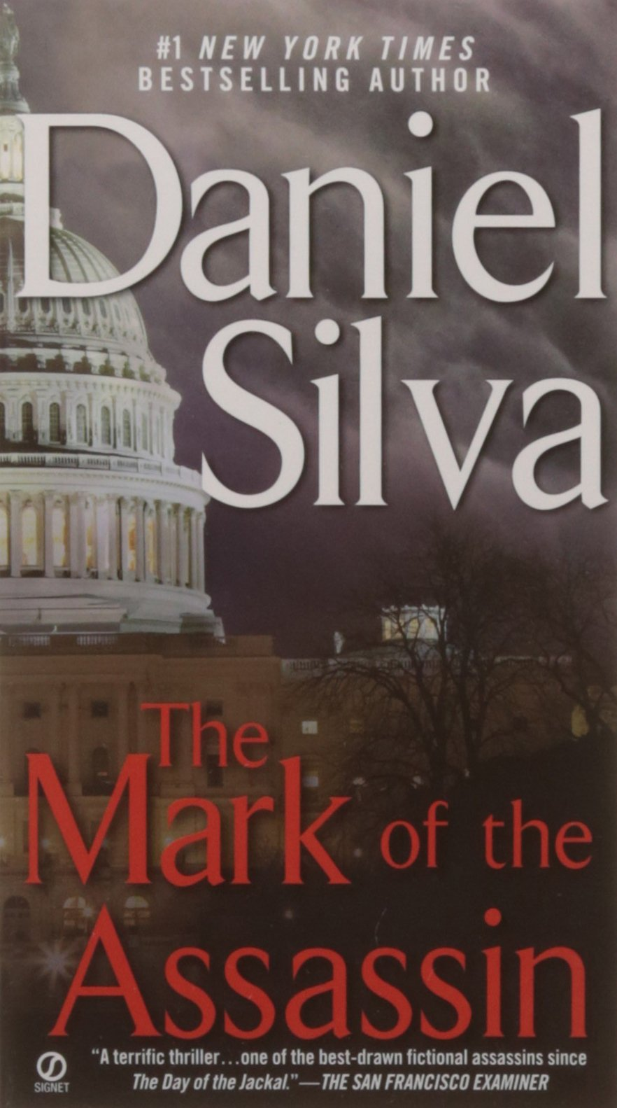 The Mark Of The Assassin: Daniel Silva: 9780451209313: Amazon: Books