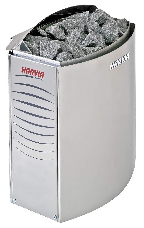 VEGA Po/êle de Sauna Harvia pour Commande Externe 6 KW pour 230V monophas/é et 400V triphas/é