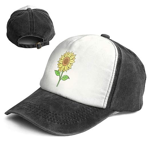 1b4592b28 Amazon.com: XZFQW Sunflower Trend Printing Cowboy Hat Fashion ...
