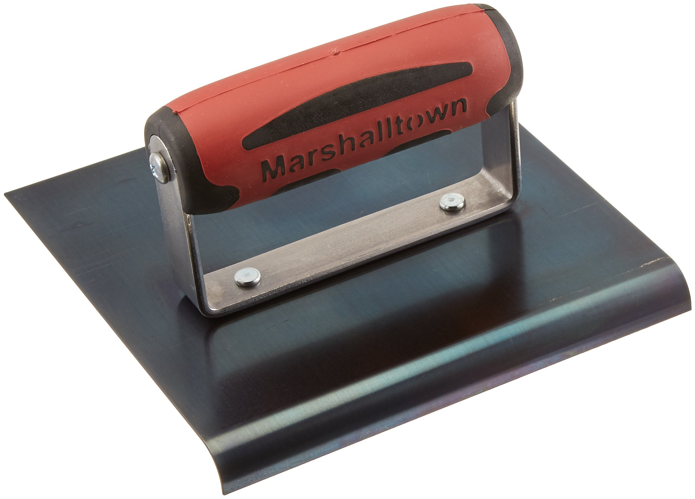 MARSHALLTOWN The Premier Line 162BD 6-Inch by 6-Inch Blue Steel Edger with DuraSoft Handle by MARSHALLTOWN The Premier Line