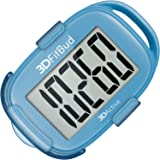 3DFitBud Simple Step Counter Walking 3D Pedometer with Clip and Lanyard, A420S