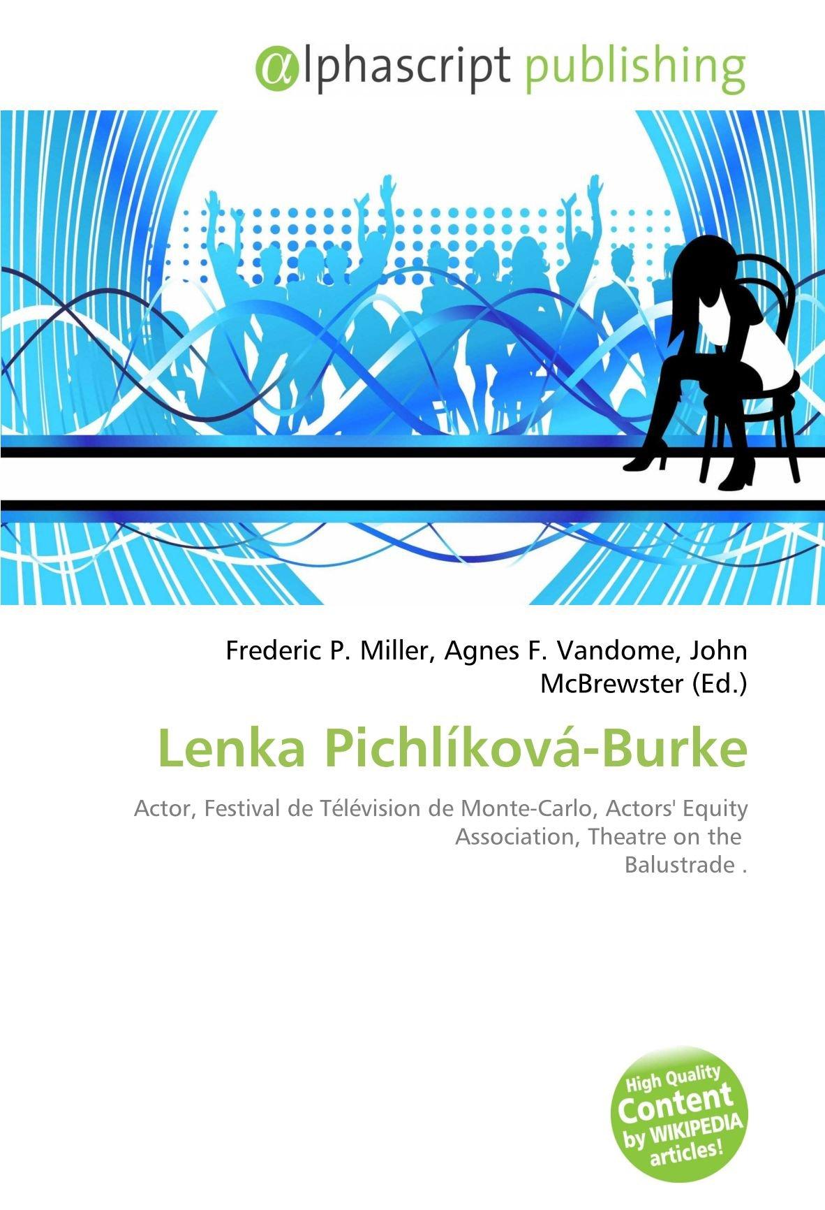 Watch Lenka Pichlikova-Burke video