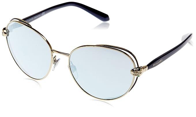 Bvlgari 0Bv6087B 20206J 57, Gafas de sol Unisex-Adulto, Azul ...