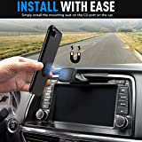 Car Mount, Phone Holder Besyong Universal Car Phone Holder Magnetic for Smartphones, CD Slot Car Phone Mount 6 strong N50 magnet for iPhone X/8/7 Plus, Samsung Galaxy S8, HUAWEI mate 9, LG And More