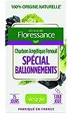 Floressance Phytothérapie Digestion Végétale Spécial Ballonnements Charbon / Angélique / Fenouil 45 Gélules Lot de 3