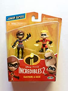 The Incredibles 2 Junior Supers Wave 2 Elastigirl & Dash