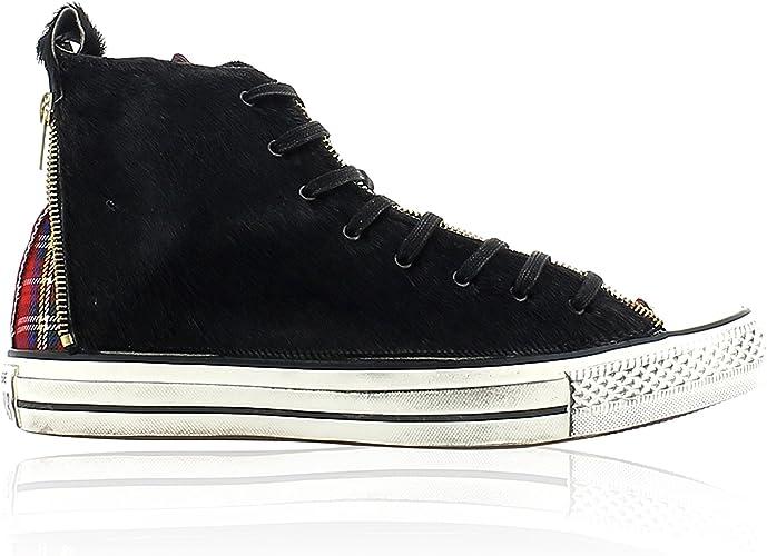 Converse , Baskets Mode pour Femme - Noir - Noir, 37: Amazon ...