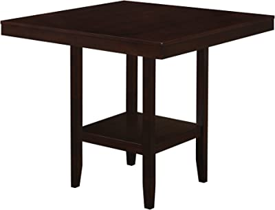 Amazon Com Jaden Square Counter Height Table With Center