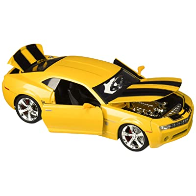 Transformers Bumblebee 2006 Chevy Camaro Concept Die-cast Car, 1:24 Scale Vehicle, Yellow: Toys & Games