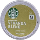 Starbucks Veranda Blend Blonde Light Roast Single Cup Coffee for Keurig Brewers, 1 Box of 10 (10 Total K-Cup pods)