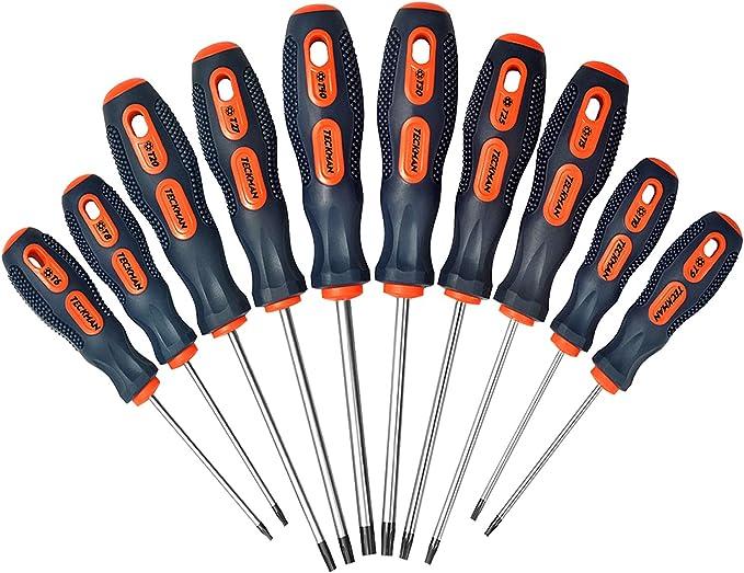 Screw Driver Set 16pc Screwdriver Suit Nutdrivers Tool Torx T5 T6 T8 T10 T15 Bit