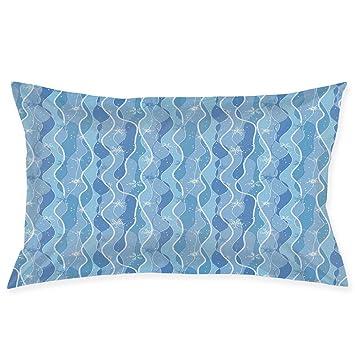 Amazon.com: YABABY Funda de almohada, patrón foliage con ...