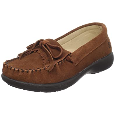 Peace Moccasins by Old Friend Womens Donna, Brown, ...