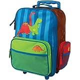 Stephen Joseph Classic Rolling Luggage, Dino