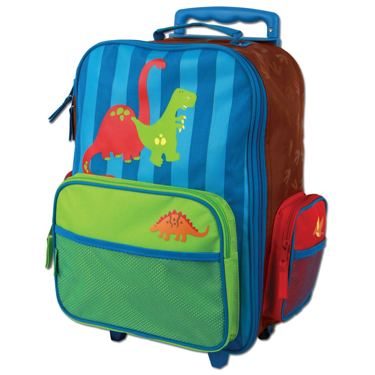Stephen Joseph Dino Rolling Luggage, Multi, One Size, 1-Pack SJ800159