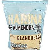 Harina de Almendra Sin Gluten 1.36 kg Harina de Almendra Keto, Harina de Almendra sin carbohidratos, harina de almendra organ