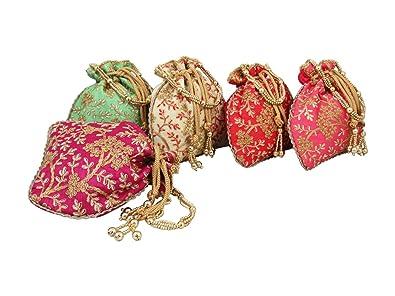 Amazon.com: GoldGiftIdeas Bolsas tradicionales, adornadas ...