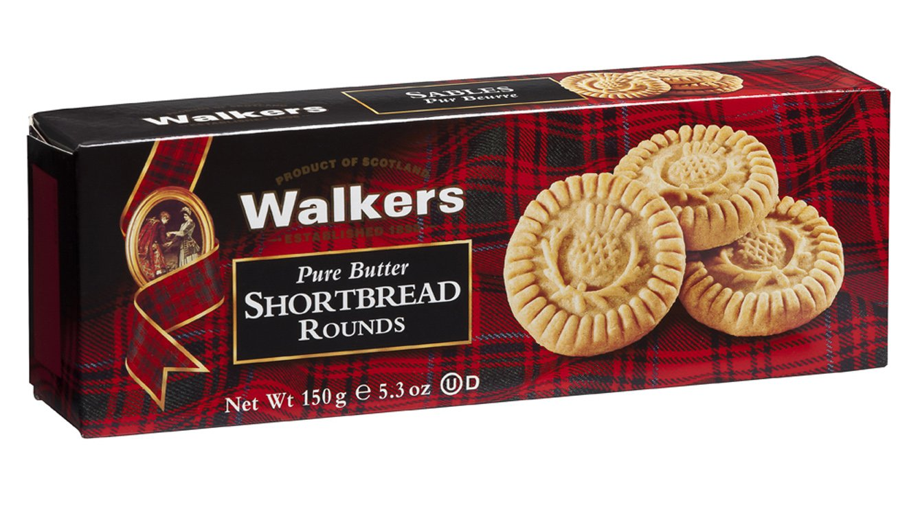 Paquete galletas escocesas shortbread rounds walkers 150 gr: Amazon.es: Alimentación y bebidas