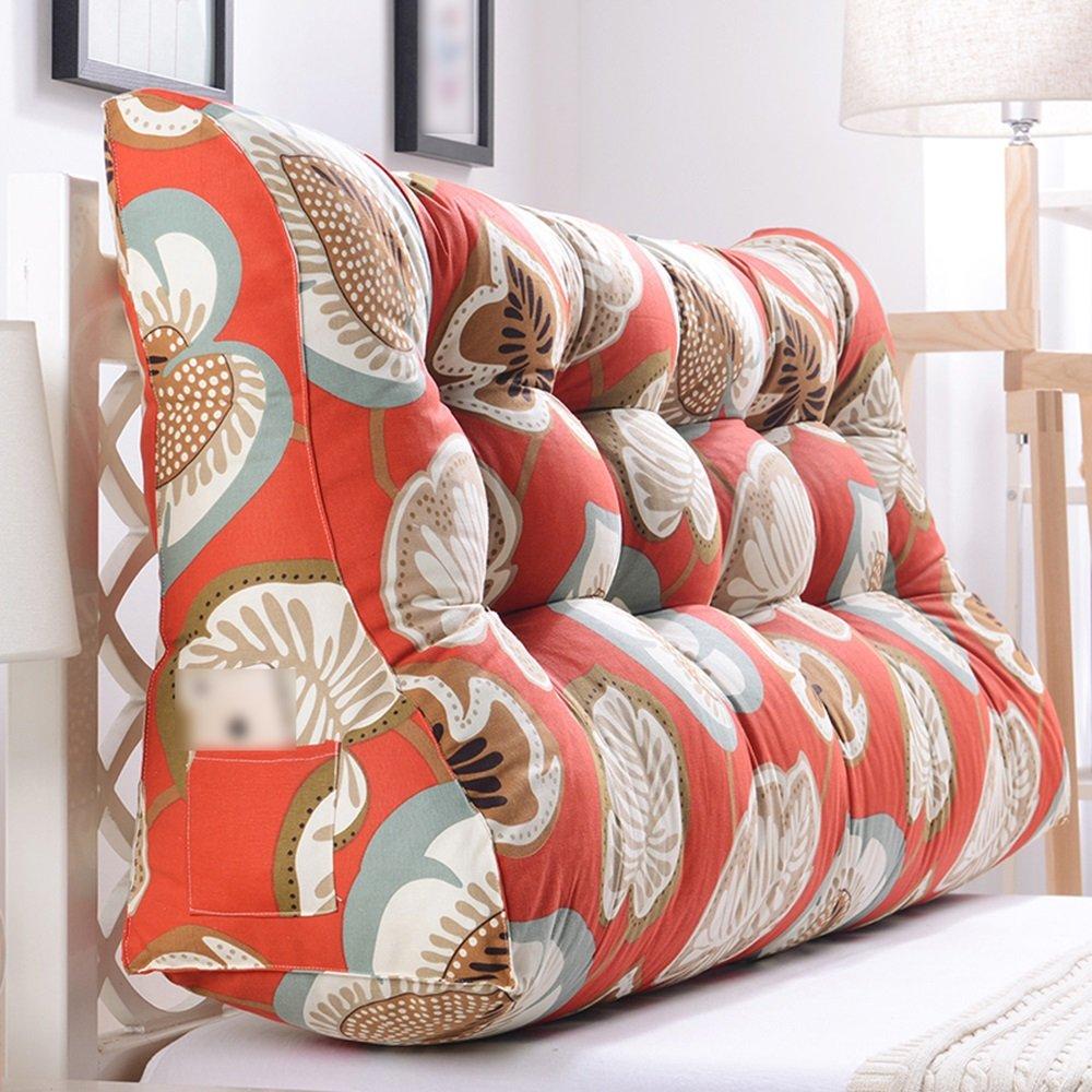LJHA Kissen halten Kissen lumbale Kissen Sofa gepolsterte Rückenlehne große Taille Kissen im Bett (Farbe   C, größe   200cm)