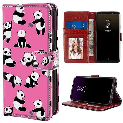 Amazon.com: YaoLang Samsung Galaxy Note 9 Wallet Case, Panda ...