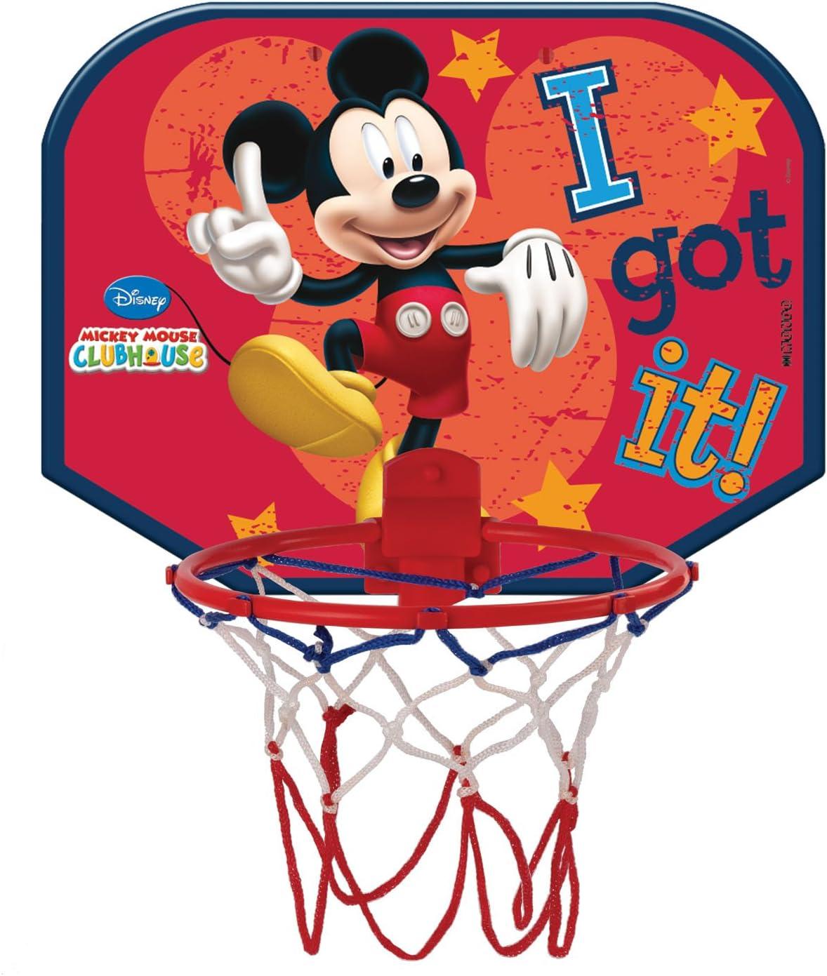 Mondo Mickey Mouse - Canasta pequeña de Baloncesto: Amazon.es ...