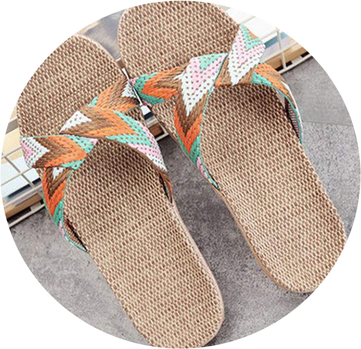 dream-boy-kkk Summer Home Slippers Women 35-45 Large Size Slapping Beach Flip Flops Non-Slip Unisex Family Slippers
