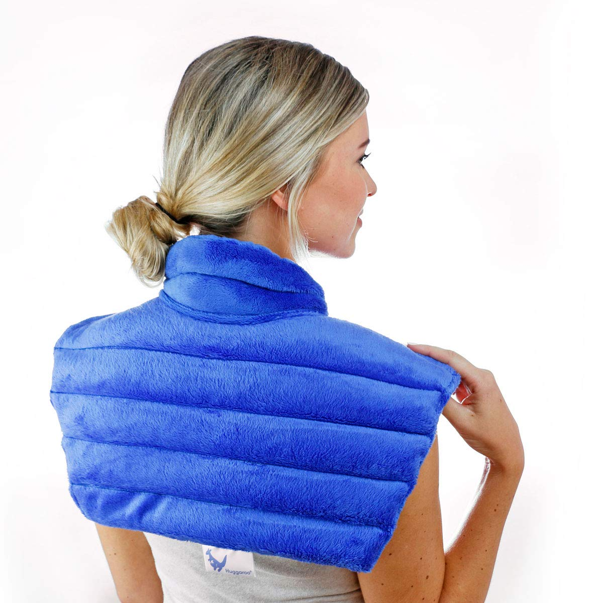 Huggaroo Neck Wrap Heat Pad - Aromatherapy, Blue