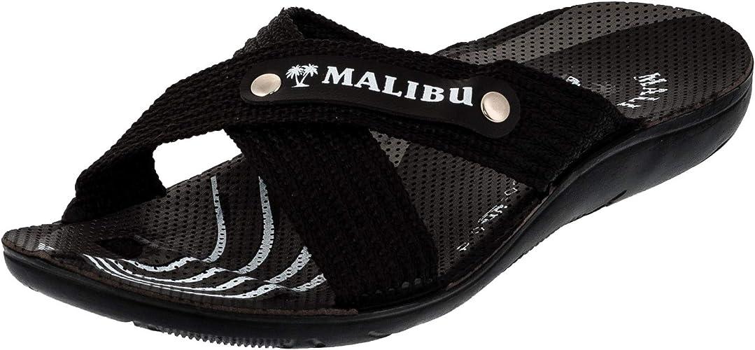 Herren Malibu Strandschuhe Sandalen Hausschuhe in vielen Farben
