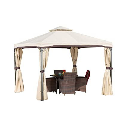 Amazon Com Title Sonoma Gazebo Canopy Outdoor Furniture Tent