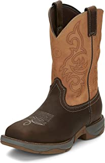 "product image for Tony Lama Men's Junction Dusty Steel Toe 11"" Height (RR3350)"
